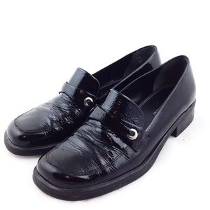 Naturalizer Black Patent Leather Loafers